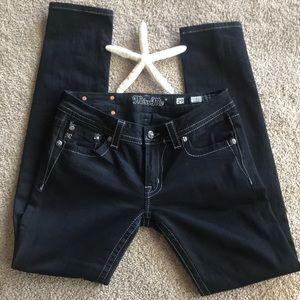 Miss Me Black Jeans Size 29